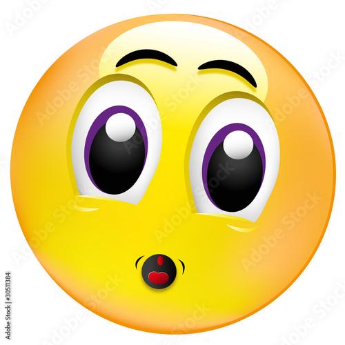 Quot Smiley Erschrocken Quot Stockfotos Und Lizenzfreie Vektoren Auf Fotolia Com Bild 30511384