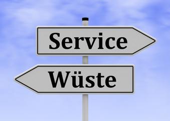 Service-Servicewüste