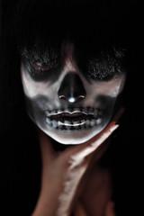 Gothic portrait of dead woman