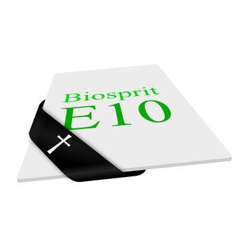 karte/schleife (s) biosprit e10 I