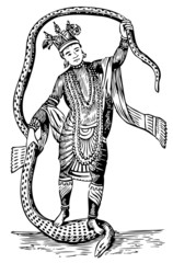 Vishnu in the 8th Avatar