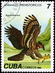 CUBA - CIRCA 1982 Eagle