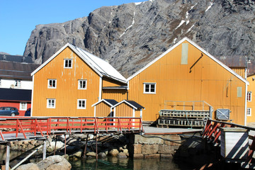 The lofts of Nusfjord