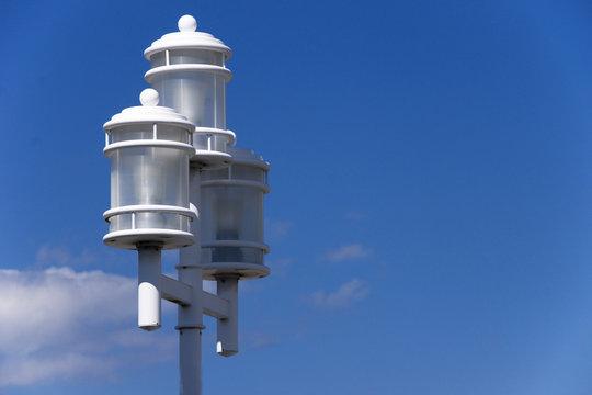 city lightpost