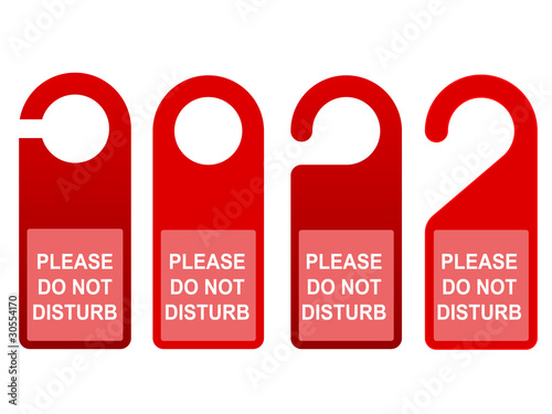 do not disturb sign template stock image and royalty free vector