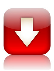 DOWNLOAD Web Button (upload internet downloads click here red)