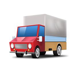 icon trucklkw transporter versand