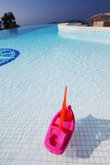 toy ship pool