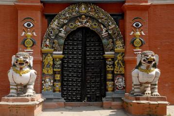 Kumari Bahal Palace , Nepal .
