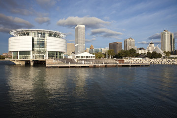 Milwaukee seen from Lakefront