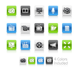 Multimedia // The vector file includes 4 colors