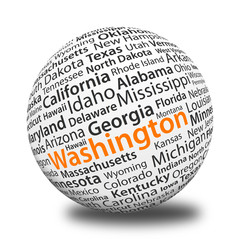 Word Ball - Wasghington