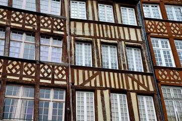 Les colombages à Rennes