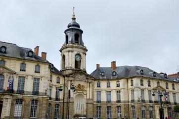 A Rennes l'hôtel de ville