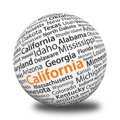 Word Ball - California