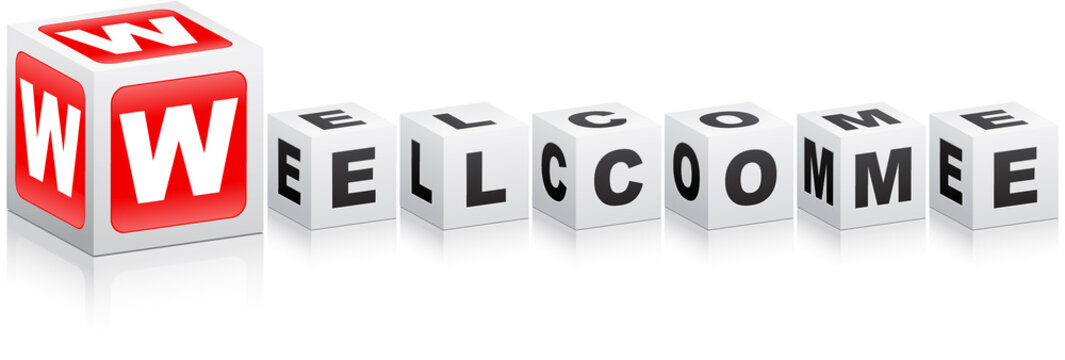 welcome text