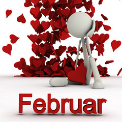 Stickman Februar