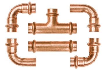 Copper pipe tubes