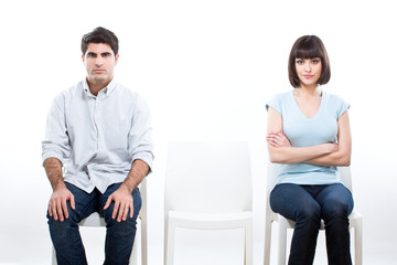 Confused couple