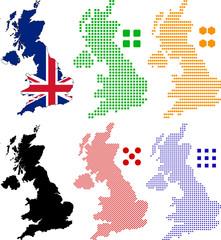 Poster Pixel United Kingdom