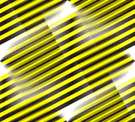blurred yellow an black lines, caution background