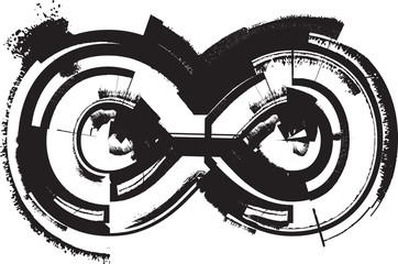 Papier Peint - Grunge font