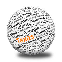 Word Ball - Texas