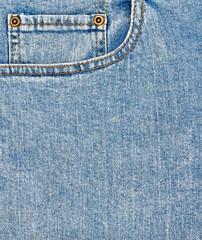 Close-up blue denim