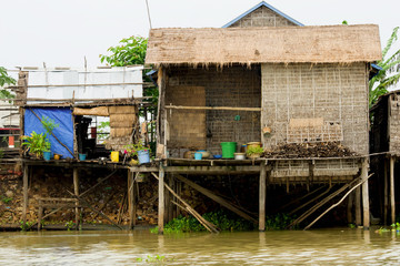 Rural Houses in Cambodia