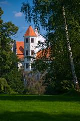 Manor park, Telc, Czech republic