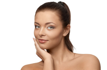 Portrait of beautiful spa girl