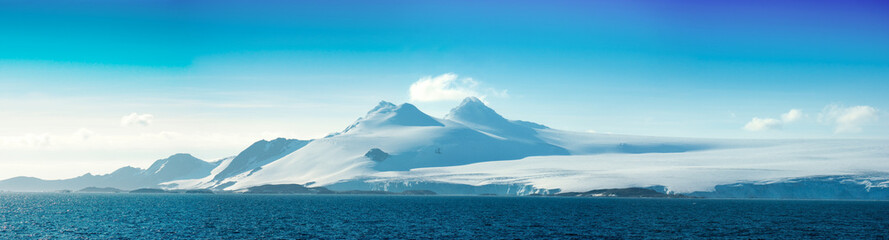 Antarctic ice island. Orkney Islands.