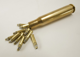 Huge bullet brass