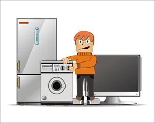 Hombre_electrodomesticos