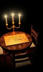 Witchboard Channeling bei Kerzenschein 03