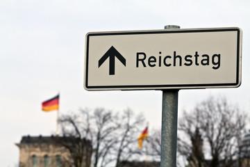 Wegweiser Reichstag