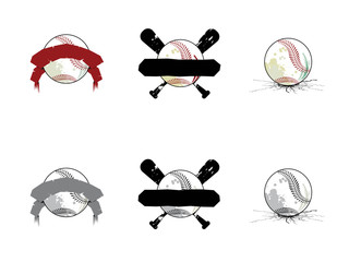 Grunge Softball/ Baseball Images