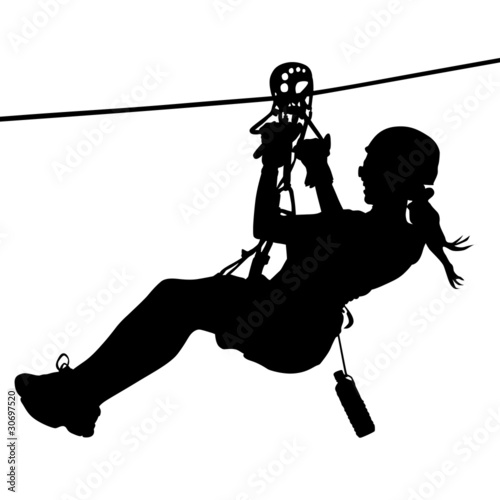 Zip Line Clipart : Quot canopy zip line flying fox seilrutschen stock image