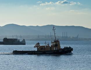 Gibraltar Tug Boat