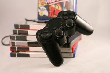 Spielsucht - Games - Stack - Controler