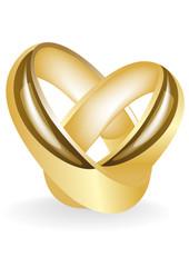 gold(en) wedding ring