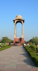 India Gate in New Delhi India, taken in 2010