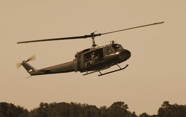 Poster Helicopter Huey