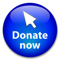 """""""DONATE NOW"""" Web Button (donation charity money give contribute)"""