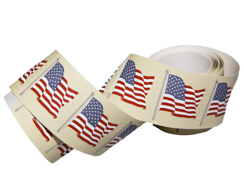 Roll of Postage Stamps