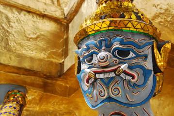 Demon statue - Bangkok Grand Palace, Thailand