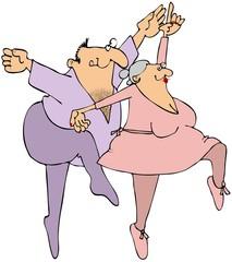 Elderly Ballet Dancers