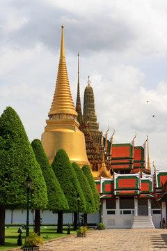 Golden Stupa - Grand Palace - Bangkok