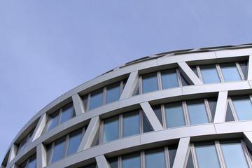 futuristisches Bürogebäude in Berlin