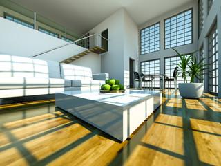 3d Rendering Loft 2